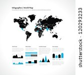 set elements of infographics | Shutterstock .eps vector #120293233