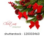 Colorful Christmas Composition...