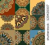 vintage floral ornamental... | Shutterstock .eps vector #120420337