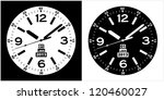 Clock Watch Vector 10 - stock vector