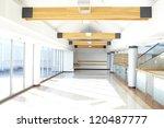 Corridor In Office Building...