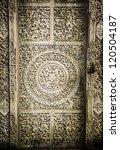 Close Up Image Of Ancient Door
