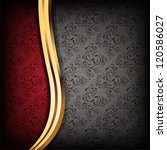 black and red luxury background. | Shutterstock . vector #120586027