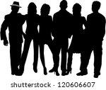 group of people | Shutterstock .eps vector #120606607