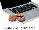 Cookies On A Computer  Playing...