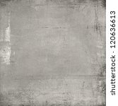 old paper against grey textured ... | Shutterstock . vector #120636613