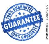 vector guarantee stamp | Shutterstock .eps vector #120640477