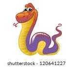 funny snake | Shutterstock .eps vector #120641227
