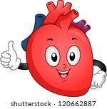 mascot illustration of a heart... | Shutterstock .eps vector #120662887
