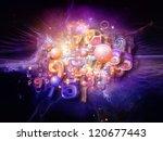 digital technology series.... | Shutterstock . vector #120677443