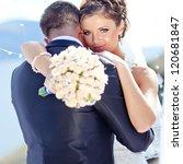 bride and groom | Shutterstock . vector #120681847