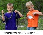 Kids Playing Outside  Catching...