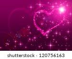 pink valentines day background   Shutterstock . vector #120756163