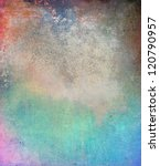 grunge colorful texture ... | Shutterstock . vector #120790957