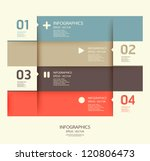 modern design template   can be ... | Shutterstock .eps vector #120806473