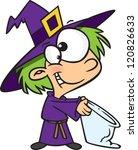 cartoon girl dressed up as a...   Shutterstock .eps vector #120826633