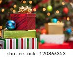 Stacks Of Christmas Presents...