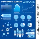 infographics elements airplane   Shutterstock .eps vector #120910837