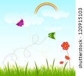 vector illustration of nature...   Shutterstock .eps vector #120915103