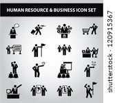 business management and human... | Shutterstock .eps vector #120915367