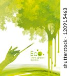 illustration environmentally... | Shutterstock . vector #120915463