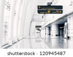 white hall at airport   modern... | Shutterstock . vector #120945487