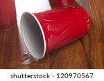 Beer In A Disposable Red Cup A...