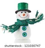 Cheerful Christmas Snowman  ...