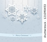 christmas design with... | Shutterstock .eps vector #121090453