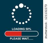 loading.please wait.. | Shutterstock .eps vector #121132273