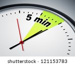 an illustration of a clock with ... | Shutterstock . vector #121153783