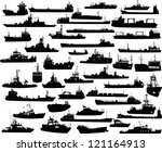 set of 44  forty four ... | Shutterstock .eps vector #121164913