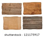 collection of various  empty... | Shutterstock . vector #121175917