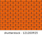 wall background - stock vector