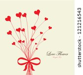valentine's love flower
