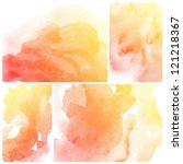 set of colorful abstract...   Shutterstock . vector #121218367