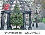 new york   november 30  the... | Shutterstock . vector #121299673