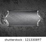 design template   iron... | Shutterstock . vector #121330897