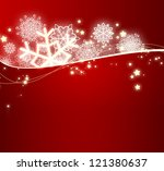 christmas background with... | Shutterstock . vector #121380637