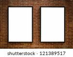 Two Blank Billboards Attached...