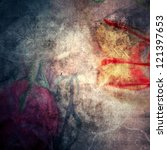 old paper grunge background | Shutterstock . vector #121397653