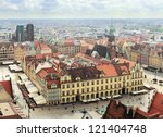 Market Square in Wroclaw, Poland - stock photo