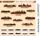 City Skyline Set. Great Britai...