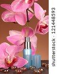 women's perfume in beautiful... | Shutterstock . vector #121448593