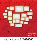 frame for picture vector | Shutterstock .eps vector #121474543
