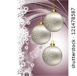 christmas background. eps10... | Shutterstock .eps vector #121478587