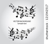 Vector Musical Notes Vector...