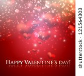 happy valentine's day. holiday... | Shutterstock .eps vector #121564303