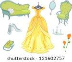 Illustration Of Princess...