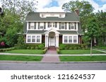 Colonial Style Home In Suburba...